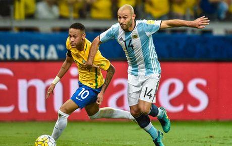 Cham diem Brazil 3-0 Argentina: Neymar che mo Messi - Anh 21