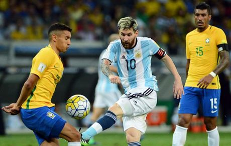 Cham diem Brazil 3-0 Argentina: Neymar che mo Messi - Anh 6