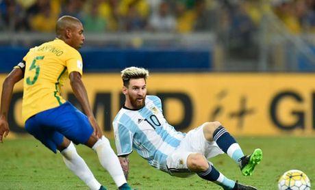 Cham diem Brazil 3-0 Argentina: Neymar che mo Messi - Anh 8