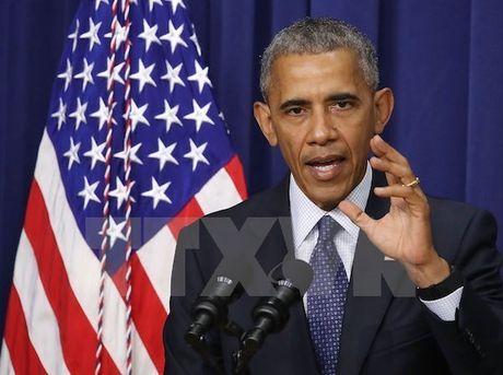 Tong thong My Barack Obama se tran an cac doi tac sau bau cu - Anh 1