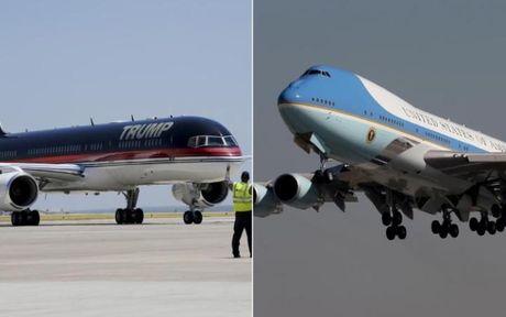 Phi co cua ong Trump va Air Force One: May bay nao an tuong hon? - Anh 1