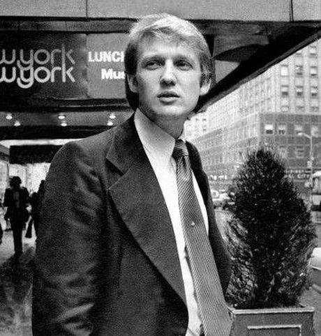 Thoi tre dien trai, cuc nhieu tien va rat dao hoa cua ong Trump - Anh 6