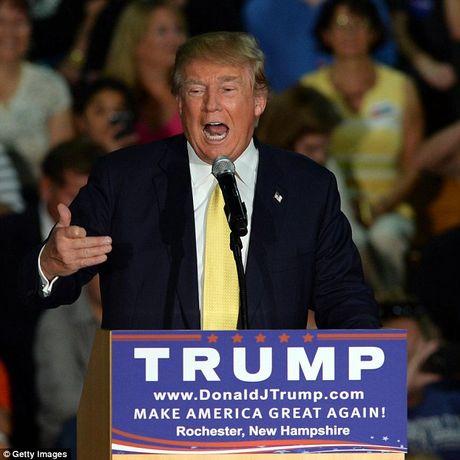 Trump tung tuyen bo khong lay mot xu luong tong thong - Anh 1