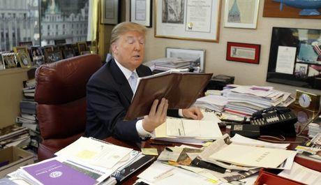 Tan Tong Thong My Donald Trump khong su dung laptop - Anh 1
