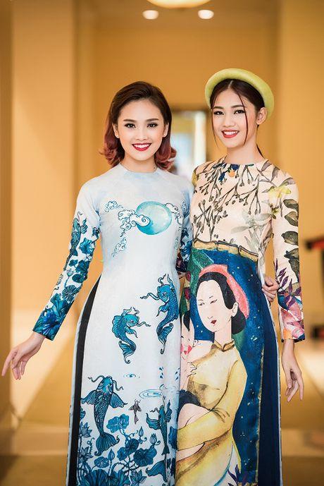Cung dien ao dai, My Linh - Thanh Tu ai quyen ru hon? - Anh 10