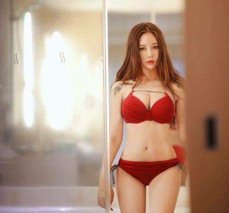 Mon mat ngam hot girl boc lua nhat xu Han - Anh 2