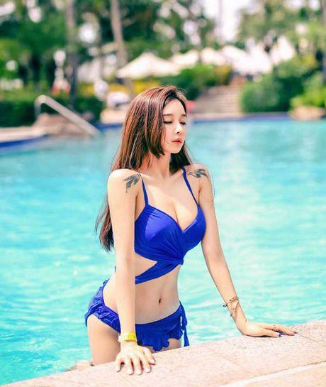 Mon mat ngam hot girl boc lua nhat xu Han - Anh 5