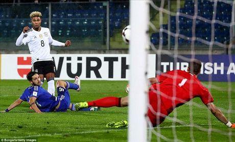 'Hang thai' Arsenal lap hat-trick, tuyen Duc huy diet San Marino - Anh 2
