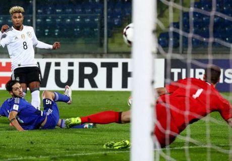 Serge Gnabry co hat-trick va lap ki luc 40 nam, HLV Wenger co tiec nuoi? - Anh 1