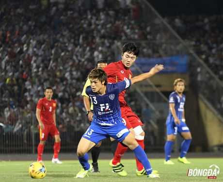 Man tong duyet chap nhan duoc cua DT Viet Nam truoc them AFF Cup 2016 - Anh 2