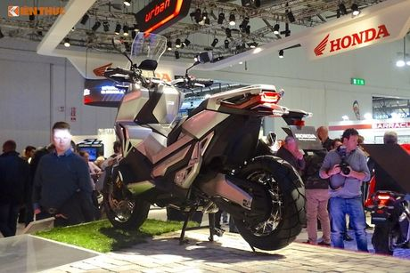'Phuot thu' tay ga Honda X-ADV tai trien lam EICMA 2016 - Anh 13