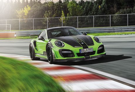 Porsche 911 Turbo do sieu xe Techart GTstreet R 'sieu manh' - Anh 8