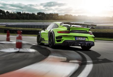 Porsche 911 Turbo do sieu xe Techart GTstreet R 'sieu manh' - Anh 9