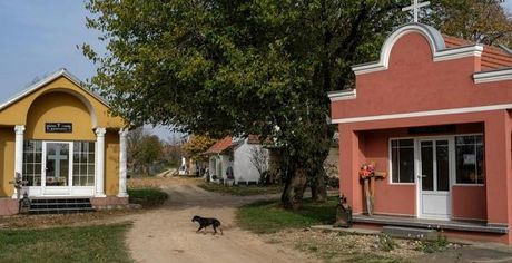 Ghe tham nghia trang sieu sang o Serbia - Anh 8