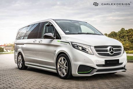 Minivan Mercedes V-Class 'sang chanh' voi ban do Carlex - Anh 1