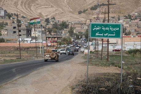 Kham pha tu vien bo hoang gan chien tuyen Mosul - Anh 2