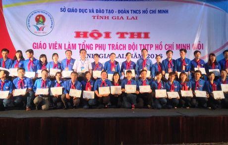 Gia Lai: Be mac Hoi thi Tong phu trach Doi gioi cap tinh nam 2016 - Anh 1