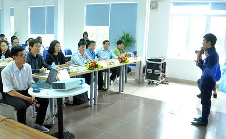 Startups thuyet trinh san pham de keu goi nha dau tu - Anh 1