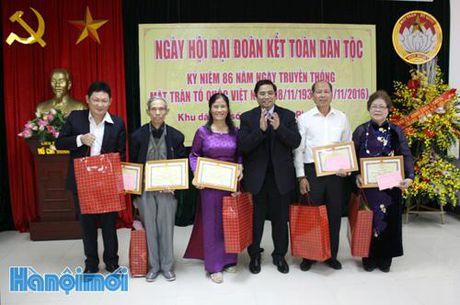 Ngay hoi dai doan ket toan dan toc tai Khu dan cu so 14, phuong Phu Thuong, quan Tay Ho - Anh 1