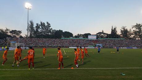 Tuyen Viet Nam 0-0 Avispa Fukuoka: Man trinh dien chap nhan duoc - Anh 10