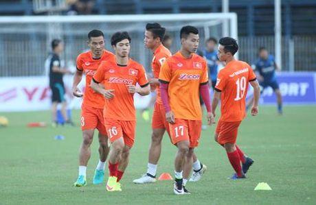 Tuyen Viet Nam 0-0 Avispa Fukuoka: Man trinh dien chap nhan duoc - Anh 11