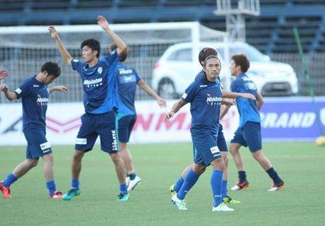Tuyen Viet Nam 0-0 Avispa Fukuoka: Man trinh dien chap nhan duoc - Anh 13