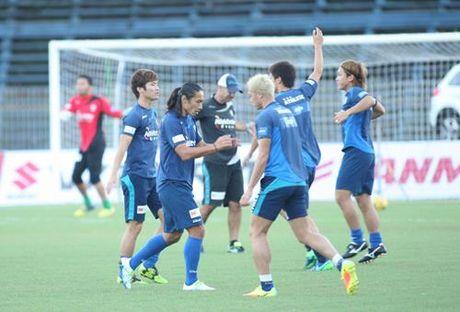 Tuyen Viet Nam 0-0 Avispa Fukuoka: Man trinh dien chap nhan duoc - Anh 14