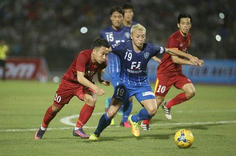 Tuyen Viet Nam 0-0 Avispa Fukuoka: Man trinh dien chap nhan duoc - Anh 3