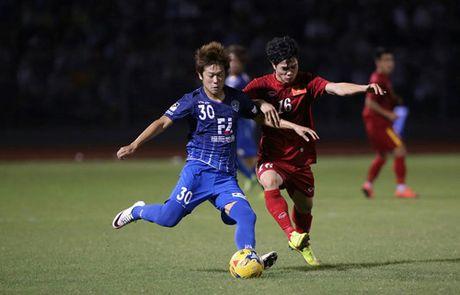 Tuyen Viet Nam 0-0 Avispa Fukuoka: Man trinh dien chap nhan duoc - Anh 4