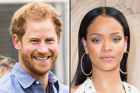 Hoang tu Harry som gap mat Rihanna - Anh 1