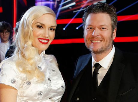Blake Shelton hao hung cho doi Gwen Stefani tro lai The Voice - Anh 1