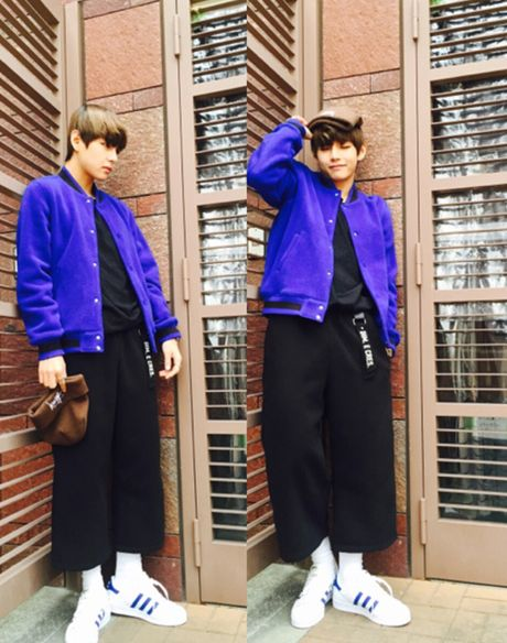 V (BTS) me man style 'chang ngo' voi quan ong rong - Anh 3