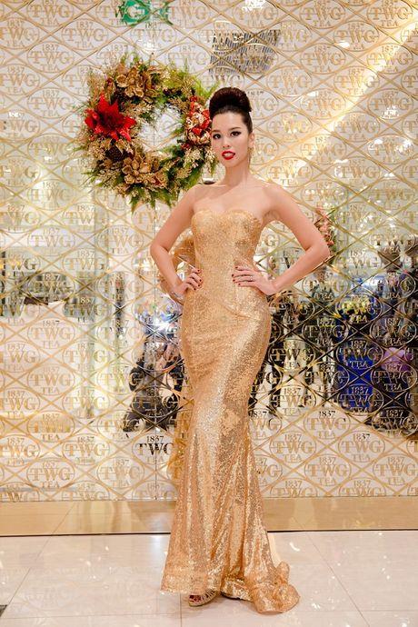 Sieu mau Ha Anh tat bat chay show truoc le Giang Sinh - Anh 6