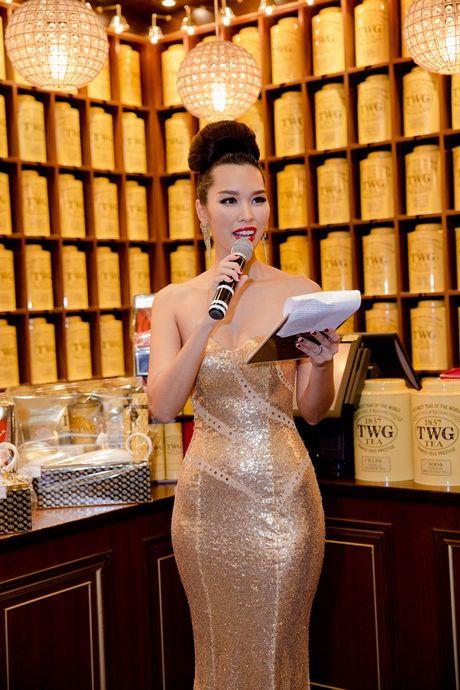 Sieu mau Ha Anh tat bat chay show truoc le Giang Sinh - Anh 7