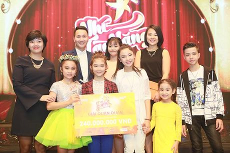 Nhu Minh - Ha My dang quang Nhi Tai Nang 2016 - Anh 4