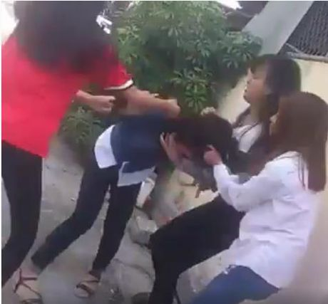 Thai Binh: Mot nu sinh truong THPT Bac Dong Quan bi danh hoi dong - Anh 1