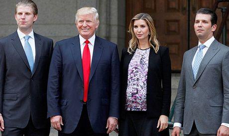 Cac con Donald Trump chuan bi tiep quan de che cua cha - Anh 1