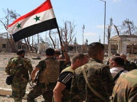 Quan doi Syria tiep tuc tai chiem mot ngoi lang chien luoc o Aleppo - Anh 1
