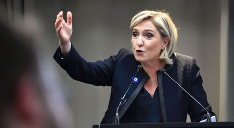 Ba Marine Le Pen - 'Donald Trump cua nuoc Phap' - Anh 1