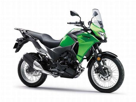 Kawasaki Versys-X 300 - Adventure touring co nho cho nguoi me 'phuot' - Anh 1