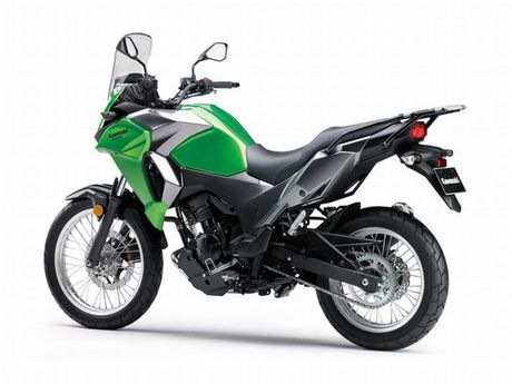 Kawasaki Versys-X 300 - Adventure touring co nho cho nguoi me 'phuot' - Anh 2