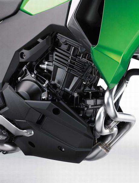 Kawasaki Versys-X 300 - Adventure touring co nho cho nguoi me 'phuot' - Anh 3