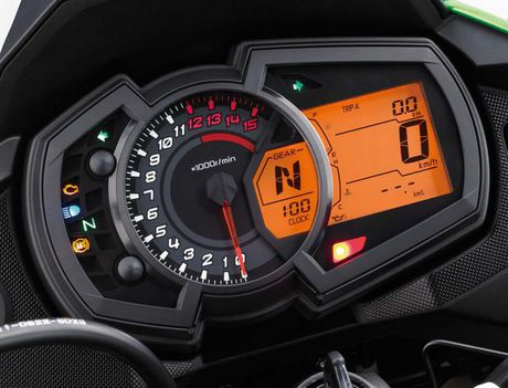 Kawasaki Versys-X 300 - Adventure touring co nho cho nguoi me 'phuot' - Anh 4