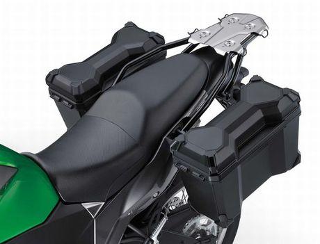 Kawasaki Versys-X 300 - Adventure touring co nho cho nguoi me 'phuot' - Anh 5