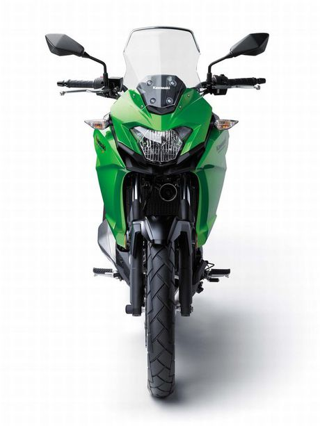 Kawasaki Versys-X 300 - Adventure touring co nho cho nguoi me 'phuot' - Anh 6