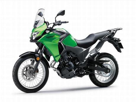 Kawasaki Versys-X 300 - Adventure touring co nho cho nguoi me 'phuot' - Anh 7