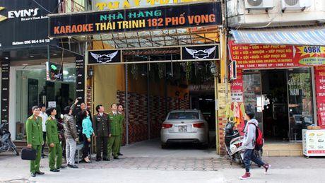 Quan Thanh Xuan siet chat quan ly cac co so kinh doanh karaoke - Anh 1