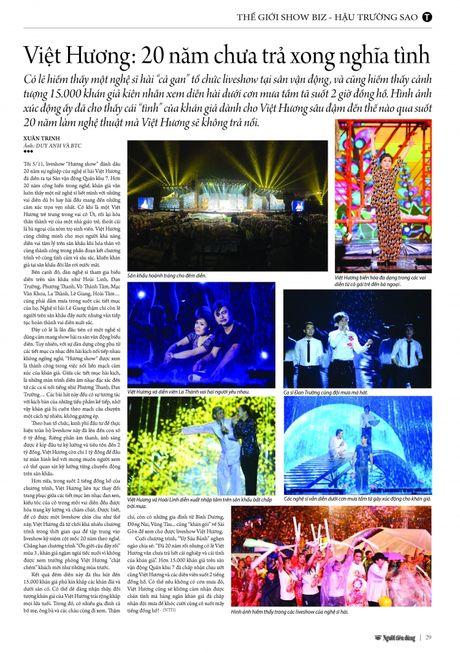 Viet Huong: 20 nam chua tra xong nghia tinh - Anh 8