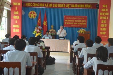 Tong Thanh tra: Tham va lam viec tai Thanh tra tinh Quang Ngai - Anh 3