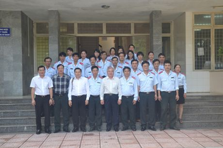 Tong Thanh tra: Tham va lam viec tai Thanh tra tinh Quang Ngai - Anh 4